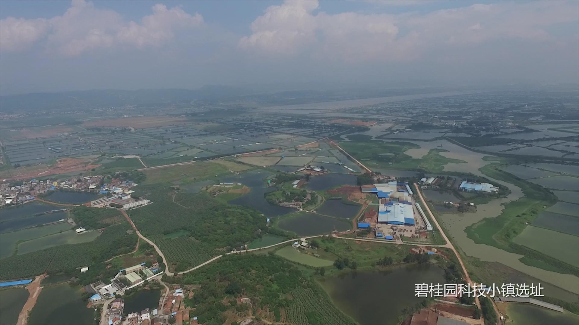 JTT-T60系列   碧桂园科技小镇选址航拍