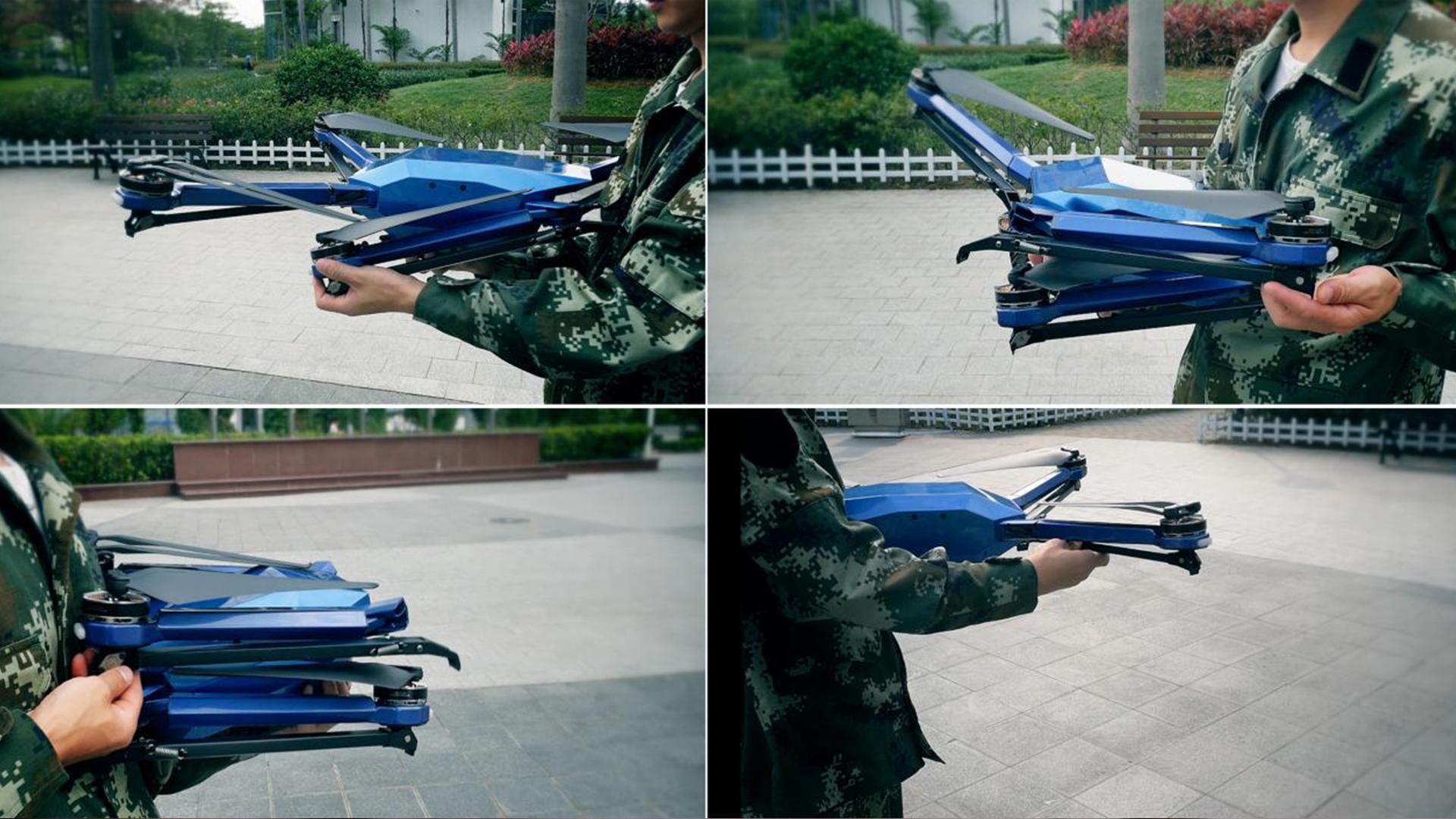 天珠C85一键起飞和一键降落