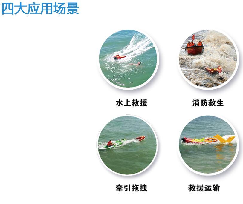 R1水上救援机器人四打啊应用场景